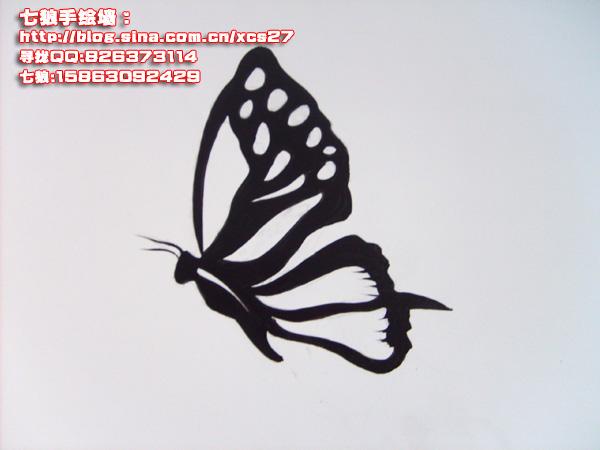 青岛黑白装饰画-青岛七狼手绘工作室-我的搜狐