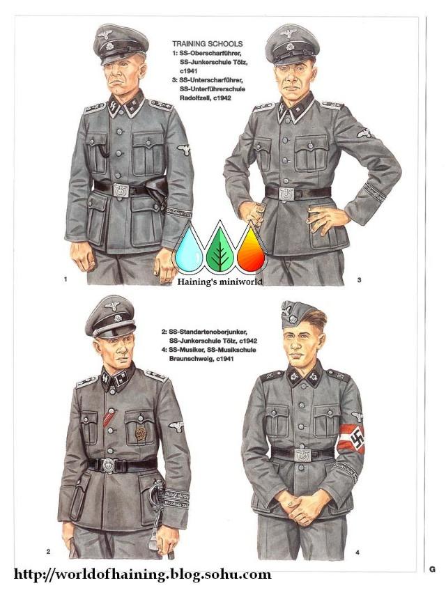 二战德国党卫军军服图册   第6 10师 海宁的虚拟世界 搜狐; g:训练