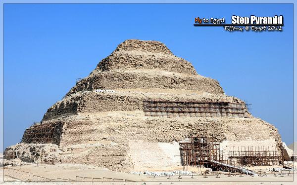 至前2648年埃及国王乔赛尔(zoser)的阶梯金字塔