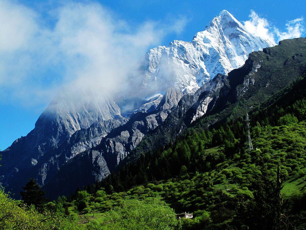 远方的风景--四姑娘山(长坪沟)