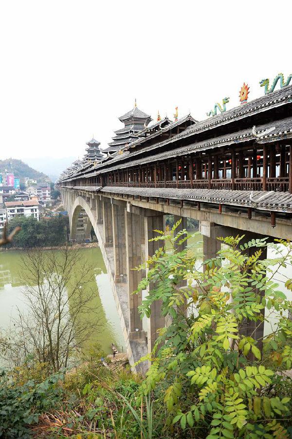 三江侗家风雨桥
