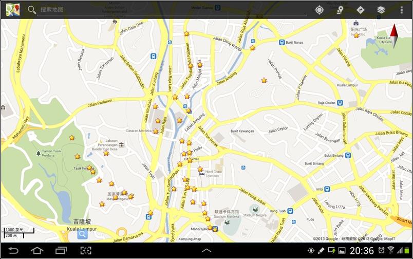 【马来西亚自助游】(一)跟着谷歌地图去旅行