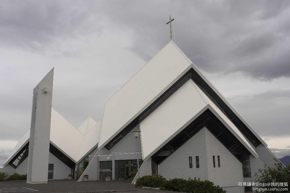冰岛的地标性建筑