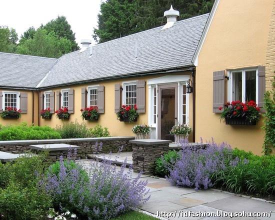 别墅庭院景观设计 美式别墅庭院 法式别墅庭院 中式别墅庭院 英式别墅图片