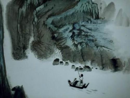 中国水墨动画经典 山水情