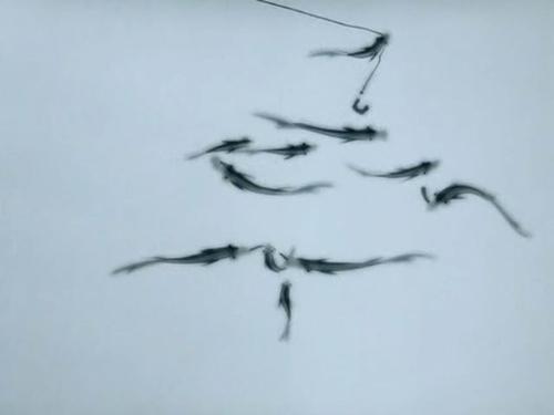 中国水墨动画经典《山水情》
