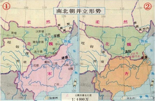 中华领土消长:历朝历代的中国地图(3)图片