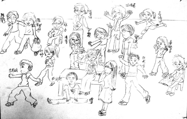 中学生创意画-中学生画画作品大全/初中创意画/中学生