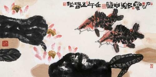 关于傲慢的大公鸡简笔画说明