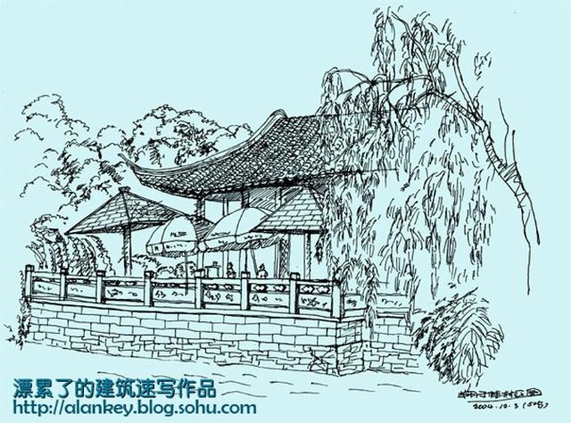 走进我的建筑速写,一起见证美丽时尚的上海