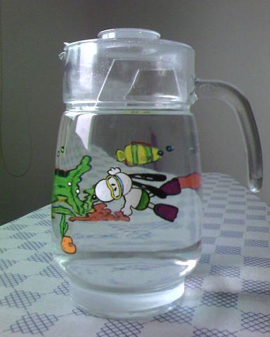 丙烯手绘瓶子四组图片
