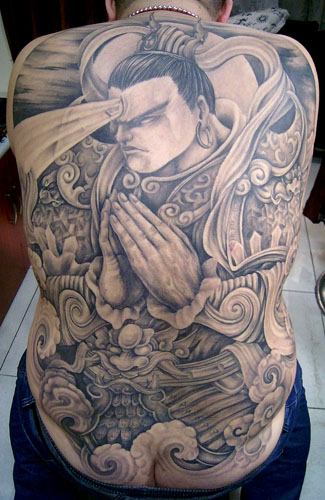 纹身图案解释 1 二郎神
