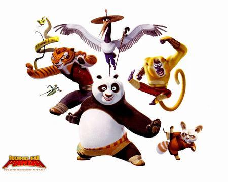 """画面色彩鲜艳赏心悦目,角色造型也相当拟人化,这只熊猫一个眼神就很"""""""