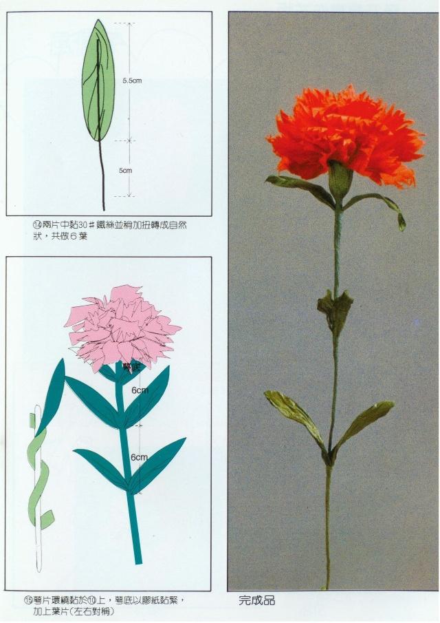纸藤康乃馨的制作方法-芳芳的空间-我的搜狐