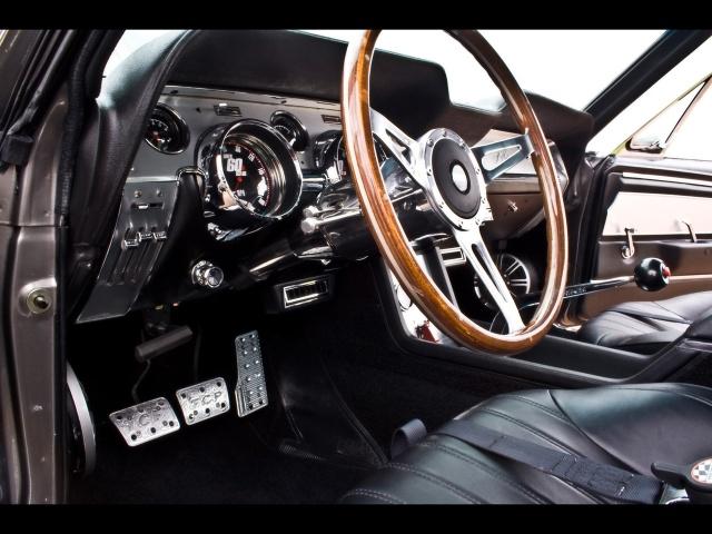 再现《急速60秒》中战神-伊林诺: 1967年福特野马gt500