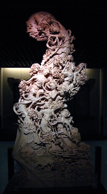 历经千年锤练的浙江东阳木雕