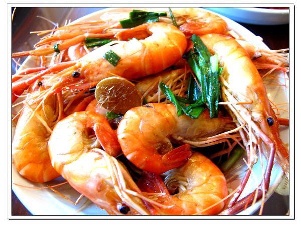 原来虾比青菜更简单——红烧大虾图片
