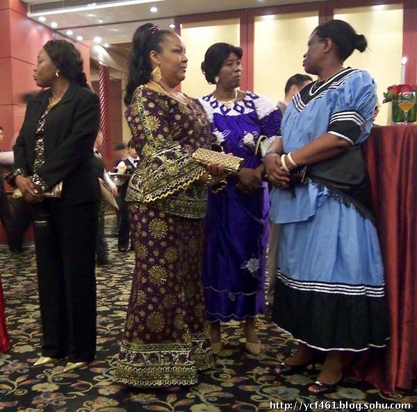 【搜狐摄影学院】赞比亚大使夫人及美女们