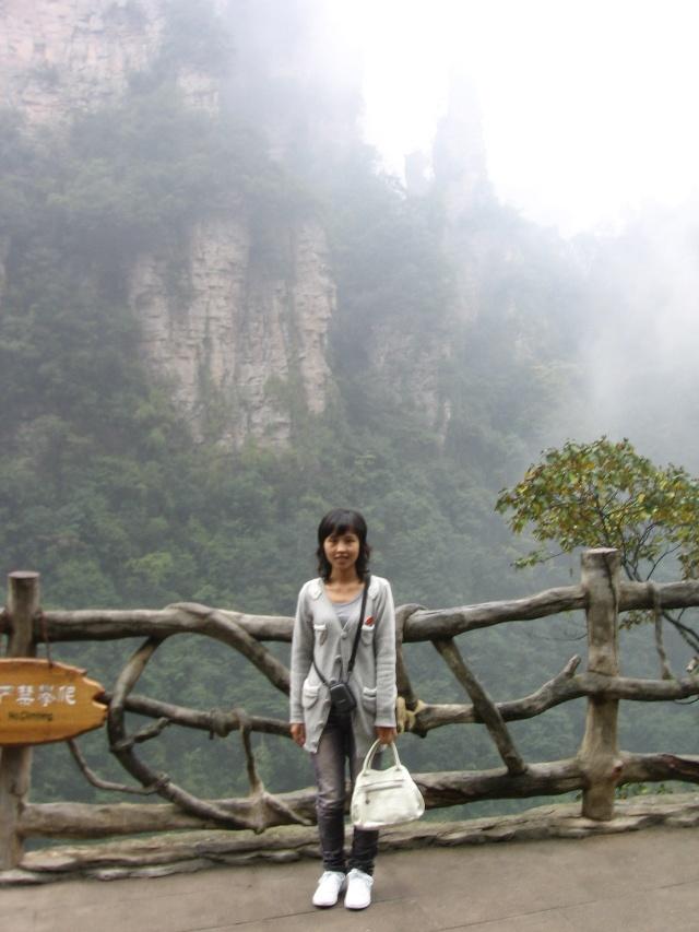乘百龙天梯到山顶,真正的美景才刚开始高清图片