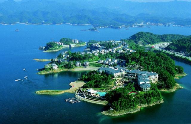 千岛湖第一家五星级酒店(图)