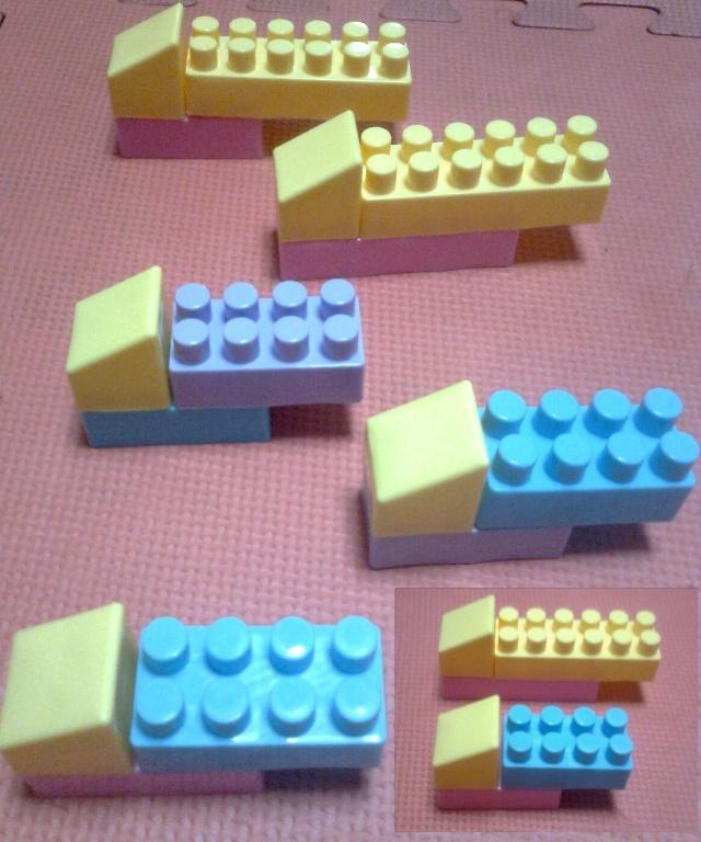 积木搭建图纸步骤
