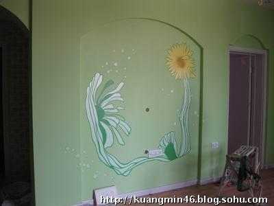 家居设计墙绘装饰