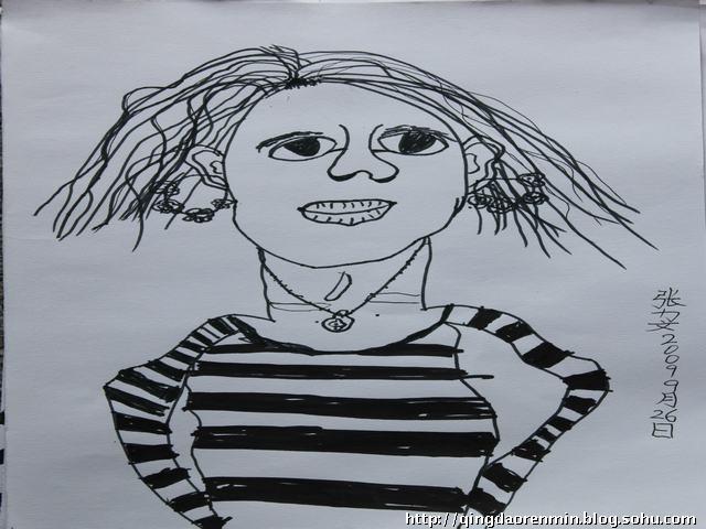 写生头像-青岛金童话儿童美术画室-搜狐博客