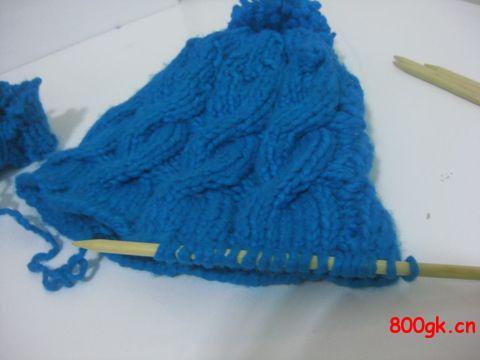 男孩帽子织法详细图解