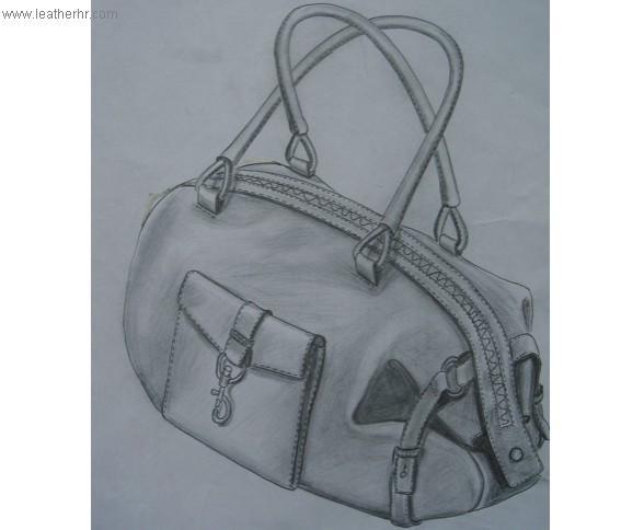『乜店』手绘女包设计作品