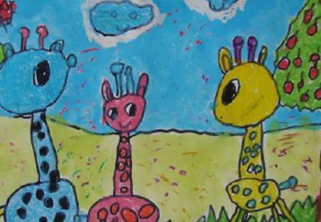 蒙特梭利教具——色板的工作延伸到幼儿美术色彩学习