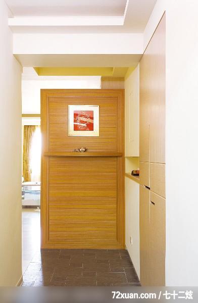 美式乡村风格的进门玄关鞋柜效果图 进门玄关鞋柜效果图