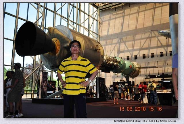 旅美印象(14)---参观航空航天博物馆