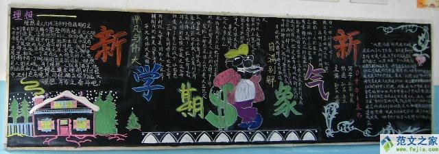小学生黑板报版面设计图-ppt高手集中营-我的搜狐