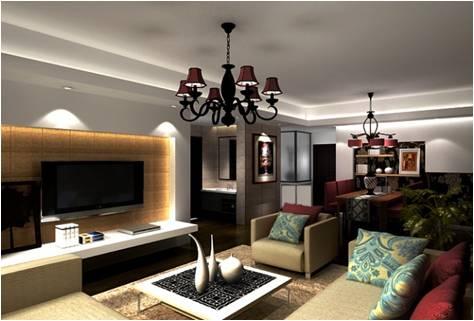 90平米小房子大功能 现代简约风格装修