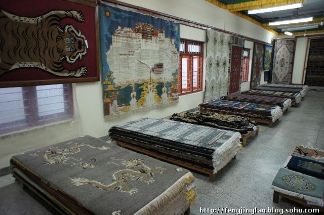 藏族古典传统室内装修图