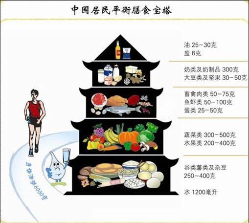 13中国居民平衡膳食宝塔