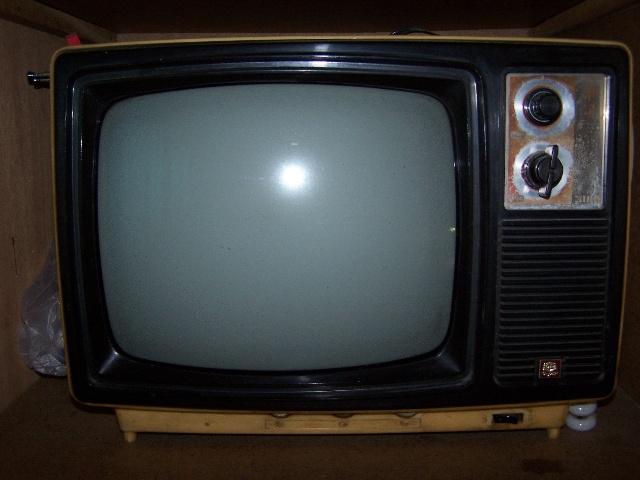 牡丹牌12英寸黑白电视机