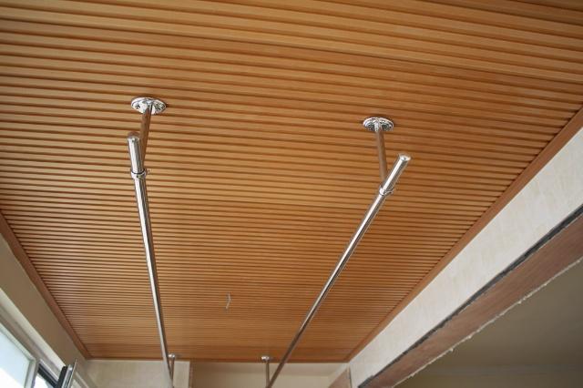 阳台生态板吊顶效果图