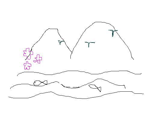 听课记录  执教:徐天喜  时间:2011-4-19  一, 板书课题:渔歌子.