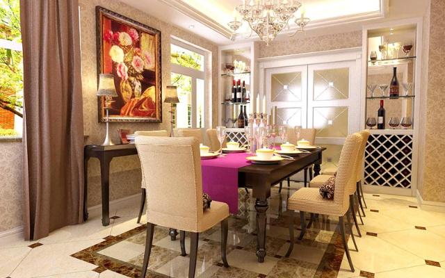 欧式客厅装修效果图设计