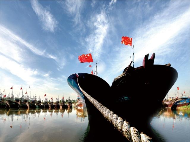 1948年3月,大鱼岛村原所福带领5户渔民成立了荣成第一个渔业生产互助