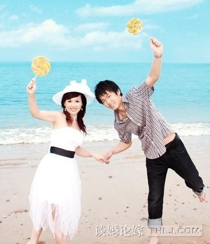 美女拍照pose大全图片海边婚纱照 拍照 姿势 大全-海边拍照pose大全