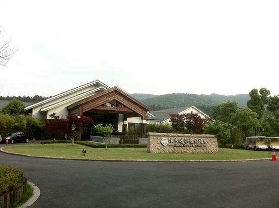 苏州旺山景区入口标识