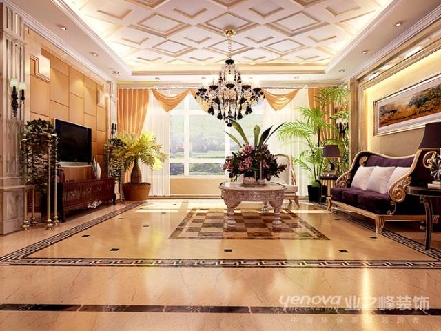 东参赛作品 奢华欧式 280平米奢华欧式风格五居室设计欣赏