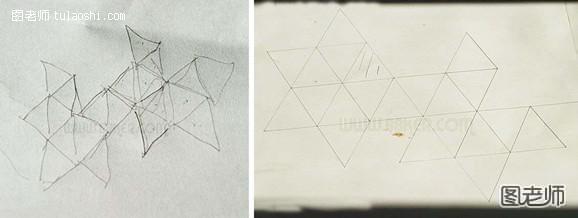 星星灯笼的折法图解法