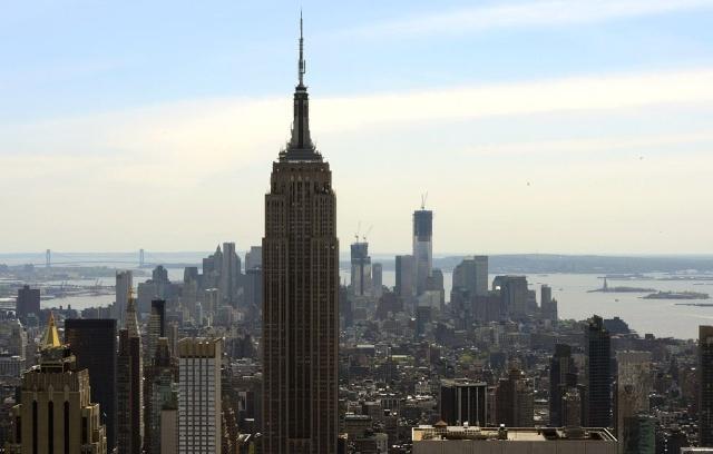 纽约曼哈顿世贸中心最高楼