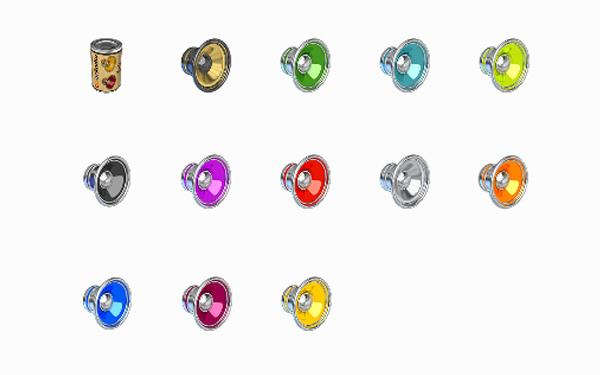 桌面图标--彩色质感喇叭图标    彩色质感喇叭图标:今天小编带给大家
