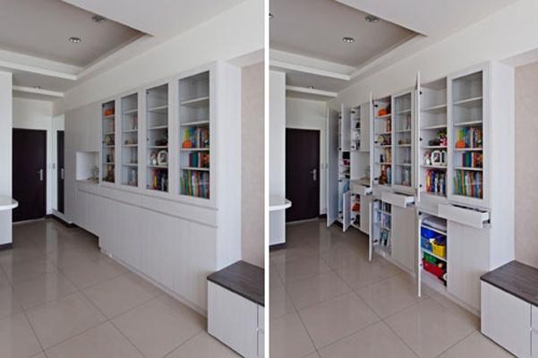 60平二手房装修-小户型超强收纳破解空间!