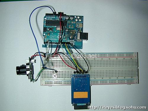 手机摄像头线路接线图diy_Arduino+TTL摄像头自制拉风数码相机_u010944680的专栏-CSDN博客