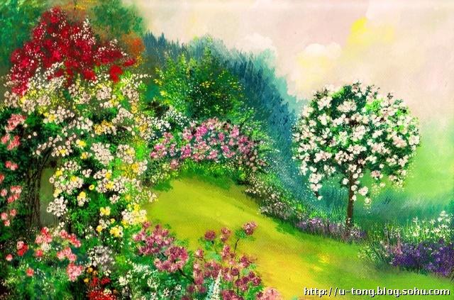 描写春天的成语大全-心中有爱花开不败-搜狐博客